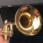 Schilke Trumpet model B1 (Gold Plated)